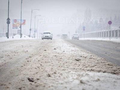 PRAHOVA/Ninge în stațiunile montane