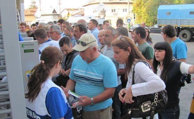Casele de bilete de la arena Ilie Oană, luate cu asalt de pe 2 mai pentru derbiul local