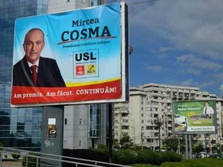 Partide diferite, mesaje identice pentru Mircea Cosma şi Andrei Volosevici