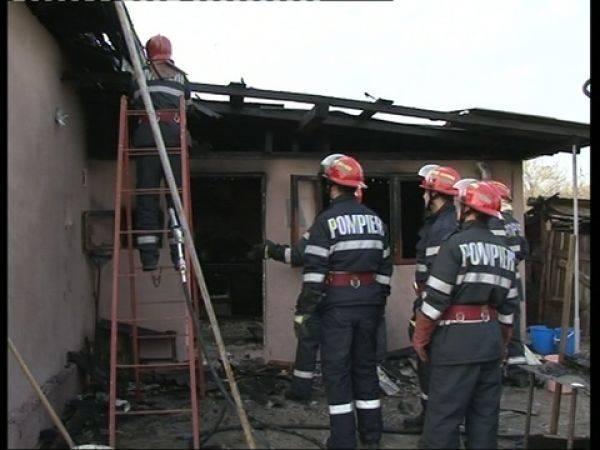 Pompierii în acţiune