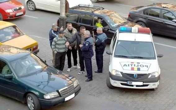 Razie a poliţiei în Gura Vitioarei