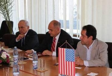 Delegaţie a ambasadei SUA, în vizită la Ploieşti