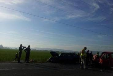 Accident groaznic pe DN1, la Băicoi. Imagini șocante