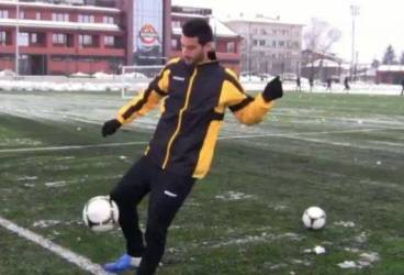 Trist, Hamza Younes a făcut primul antrenament ușor și a vizitat baza de pregătire a lui Botev Plovdiv