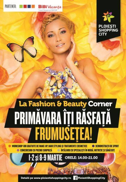 Ploiești Shopping City sărbătorește primăvara: Fashion & Beauty Corner, Ateliere Creative pentru Copii și Târg de Mărțișor