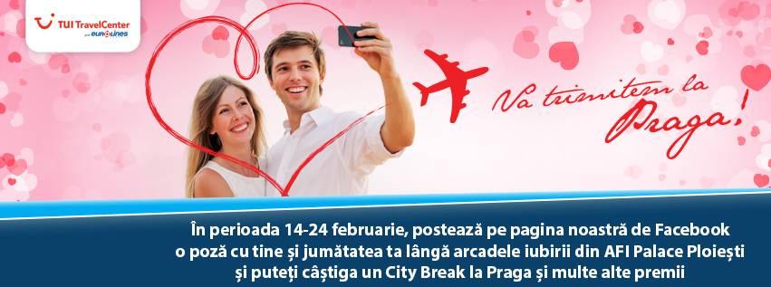 Vacanţă la Praga – premiu oferit îndrăgostiţilor de AFI Palace Ploieşti