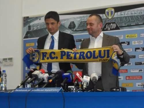 Petrolul și-a prezentat noul antrenor-domn: Răzvan Lucescu!
