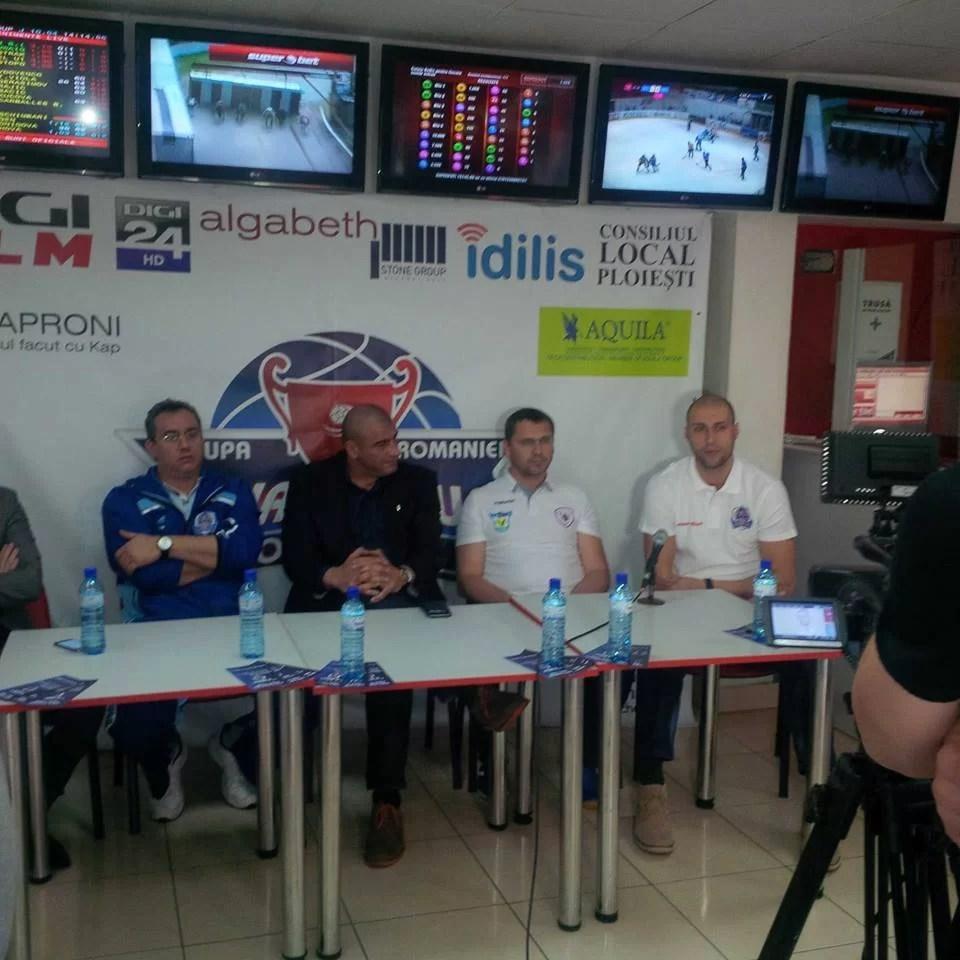 Înainte de Final Four-ul competiției KO, conferință de presă cu patru oameni de baschet legați de Ploiești