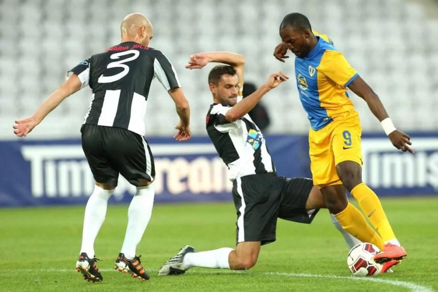 """Cu rezervele pe teren, Petrolul a câștigat destul de lejer pe """"Cluj Arena"""", în dauna divizionarei C, Unirea Jucu"""