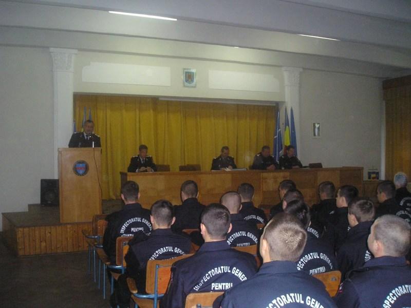 Încep cursurile Şcolii de subofiţeri Pavel Zăgănescu Boldeşti