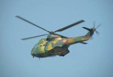 Un elicopter militar s-a prăbuşit în Sibiu. 8 persoane au murit