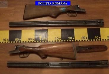 Ce-au găsit poliţiştii la suspecţii de braconaj din Boldeşti, Plopu şi Podeni