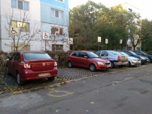 loc parcare handicap ploiesti
