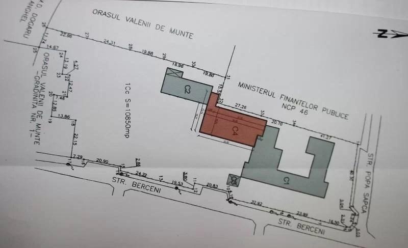 """VĂLENII DE MUNTE.Se lucrează la proiectul de extindere a Şcolii 3,""""Gheorghe Pănculescu"""""""