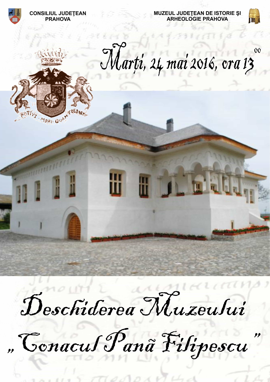 Se deschide muzeul Conacul Pană Filipescu