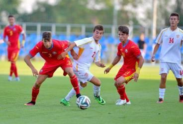 """Doi foști juniori ai SC FC Petrolul au decis meciul amical al naționalei """"U 17"""" a României contra Macedoniei!"""