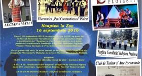 Noaptea la Zoo – programul complet