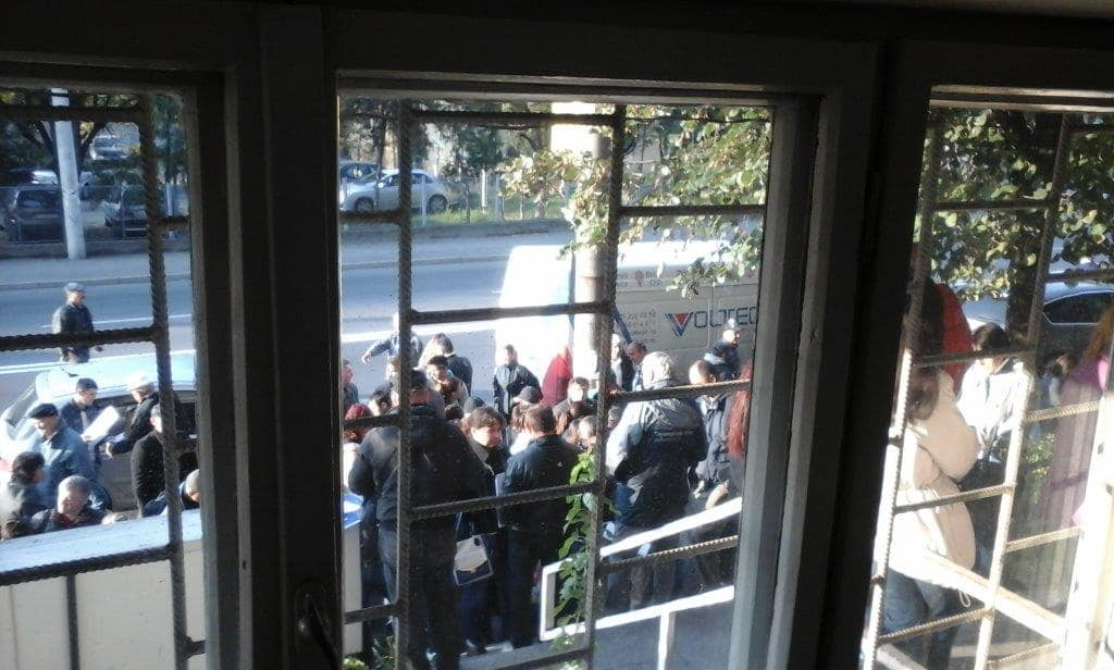 Un nou protest spontan la APM Prahova