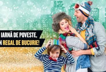 Surprizele iernii se țin lanț la Ploiești Shopping City