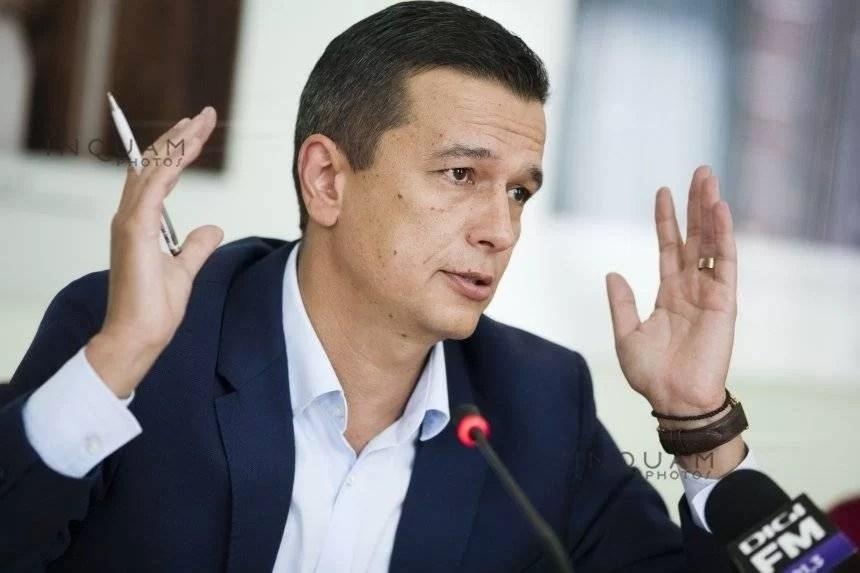 Sorin Grindeanu: Dorinţa mea e să renunţ la protecţia SPP