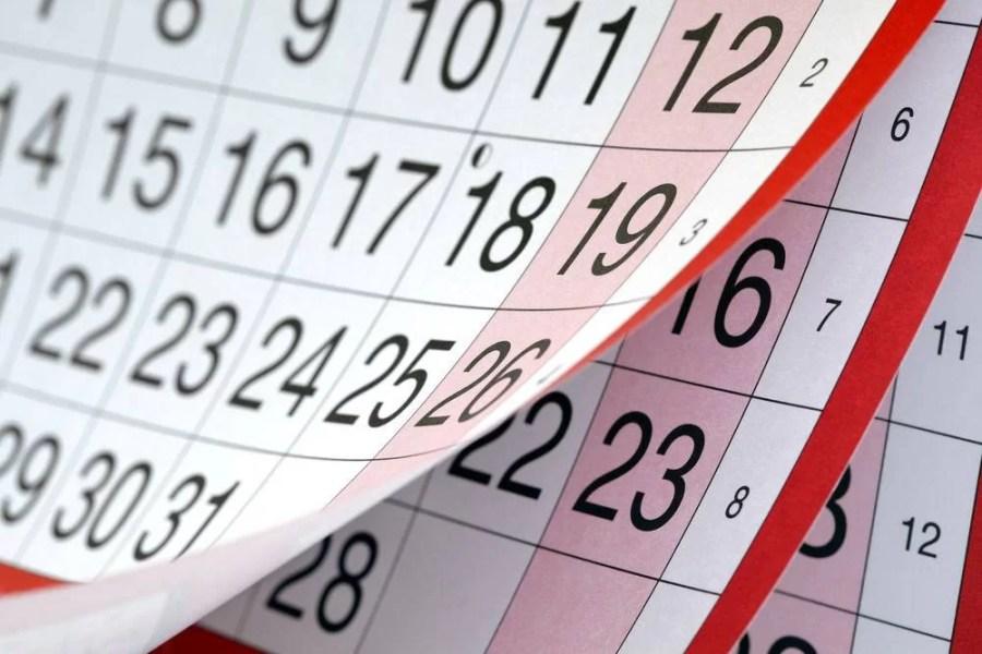 În 2021 cele mai multe zile libere cad în week-end