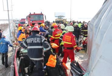 Accident grav pe DN1, la Comarnic. O persoană a decedat