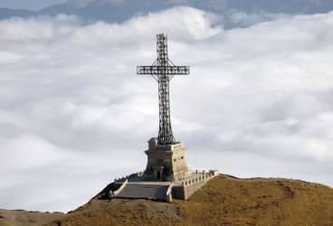 Crucea Caraiman intră în reparații