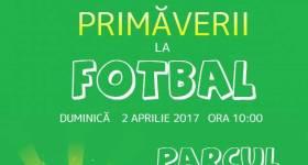 Cupa Primăverii la fotbal, duminică, 2 aprilie, la Tomşani