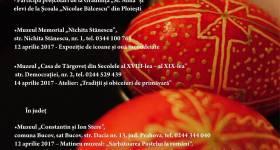Evenimente culturale la muzeele din Prahova specifice Sărbătorilor Pascale