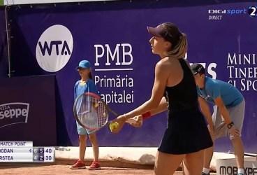 Ana Bogdan a câștigat duelul PH versus DB. Tenismena din Sinaia, calificată în turul 2 de la BRD Bucharest Open