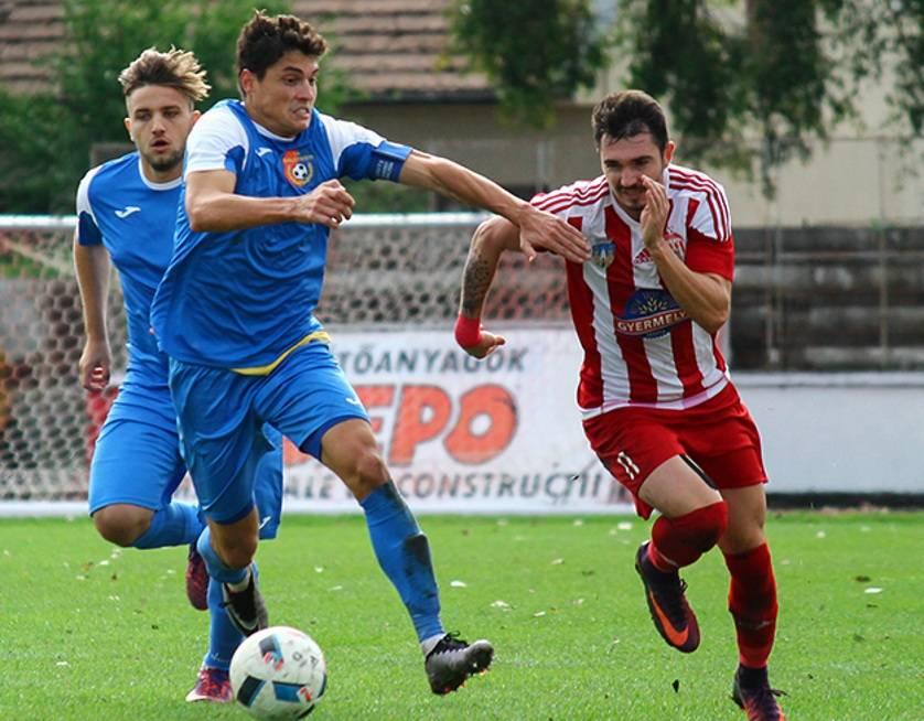 Marius Paul Antoche, in meci contra Sepsi Sfantu Gheorghe, liga2.ro
