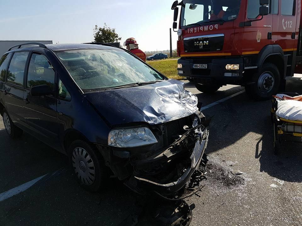 Accident pe DN1B la Chiţorani