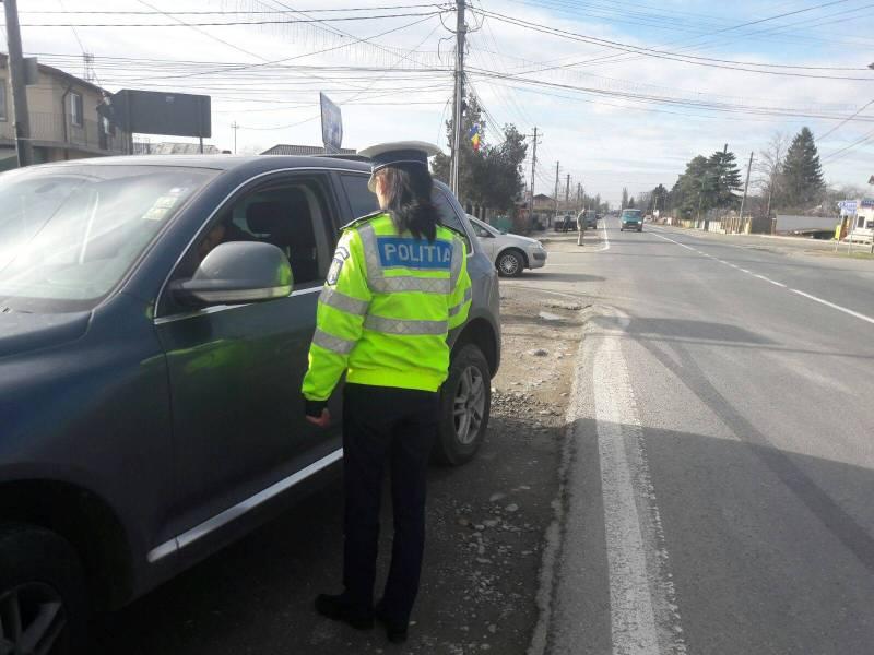 Atenţie, şoferi! Acţiune rutieră de amploare pe DN1A, DN 72, DJ720 şi DN71
