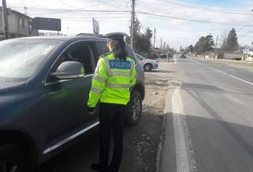500 de permise reţinute de poliţişti într-o singură zi