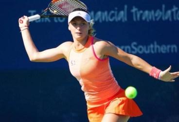 Sinăianca Ana Bogdan a spus adio turneului de la Shenzen. Experiența mai mare a Kristynei Pliskova a decis un meci lung