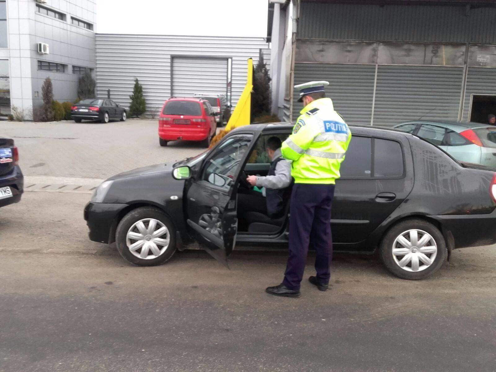 Atenţie, şoferi! Filtru al poliţiei pe DN1A, la Blejoi