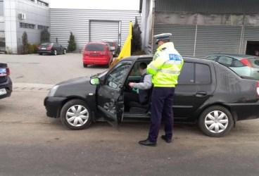 Control al poliţiei la Teişani