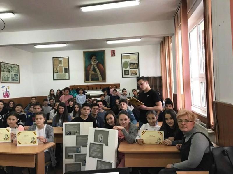 """Ziua Culturii Naţionale sărbătorită la Liceul """"Constantin Cantacuzino"""" Băicoi"""