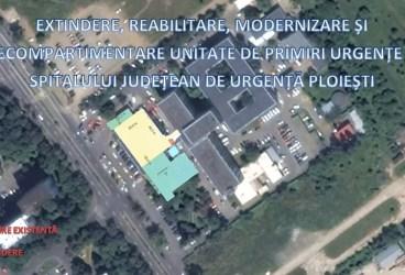 Proiect în valoare de 18 milioane de lei la Spitalul Judeţean Ploieşti