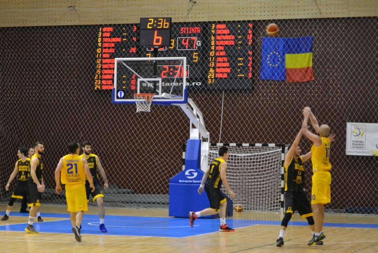 A sosit și vestea: CSM Ploiești a terminat sezonul 2017-2018 și la baschet masculin! Constanța i-a luat locul la turneul final de promovare
