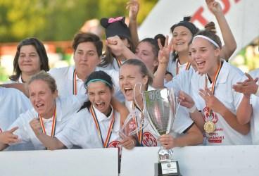 Prahoveanca Mihaela Merlan, MVP-ul finalei feminine a Cupei României, la fotbal! Câștigătoare a trofeului a fost și o jucătoare din Brebu