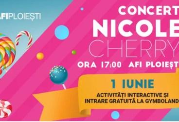 Concert Nicole Cherry la AFI Ploieşti
