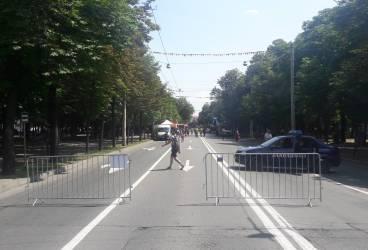 Bulevardul Independenţei, închis duminică