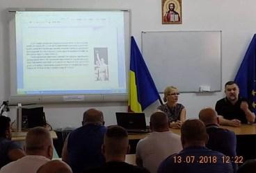 Leonard Dorofteiîn vizită la Penitenciarul Ploiești