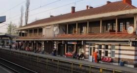 Bărbat călcat de tren în gara Ploiești Vest
