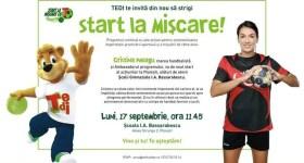 Handbalista Cristina Neagu vine astăzi la o şcoală din Ploieşti
