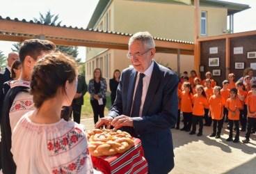 Preşedintele Austriei a fost în vizită la Ploieşti
