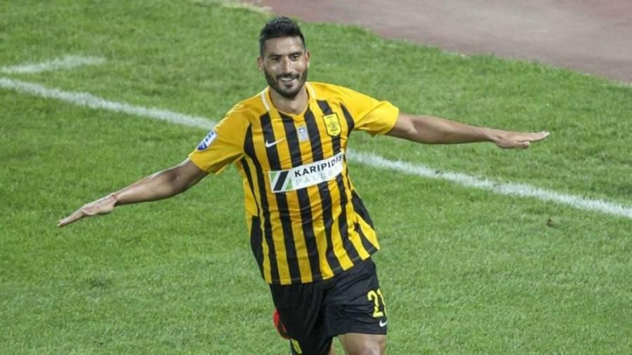 Fotbalistul promis Petrolului de… Vivi Răchită a marcat în Superliga Greciei! Hamza Younes a deschis drumul Arisului către victorie