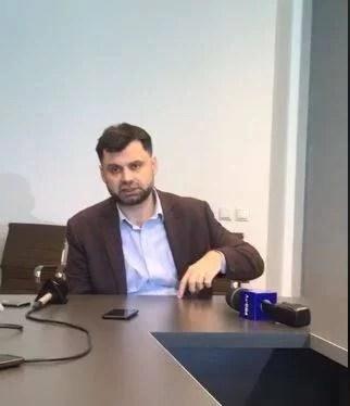 """""""Montarea conductei avariate a făcut-o firma Tancrad, la lucrările la linia de tramvai, în 2015 şi este în garanţie"""", declară primarul Adrian Dobre"""