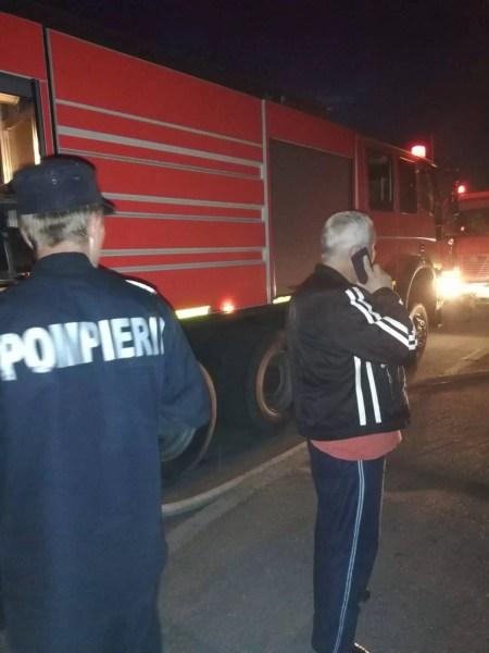 Incendiu cu repetiție pe strada Izvoare din Ploiești